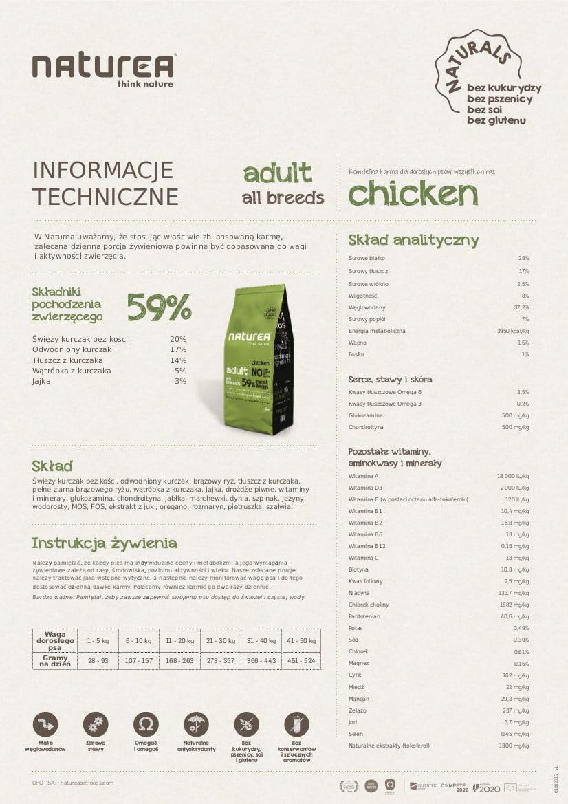Naturals - Adult Chicken