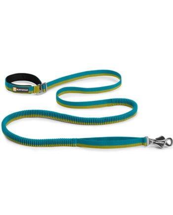 Smycz-amortyzowana-Roamer-Leash-Ruffwear-niebieski-baja-blue