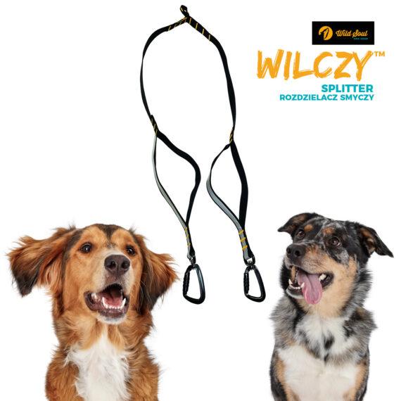 splitter rozdzielacz smyczy wilczy wildsoul dog gear