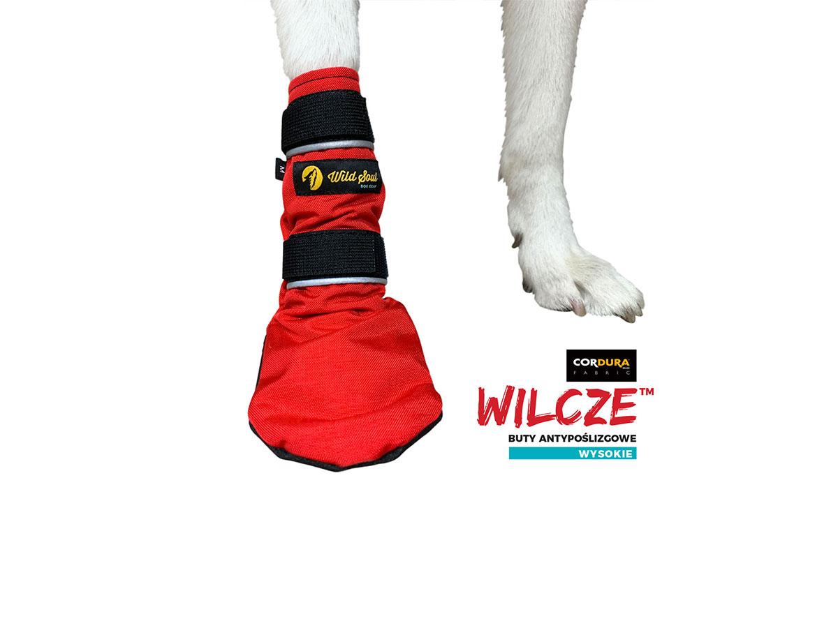 buty dla psa wilcze