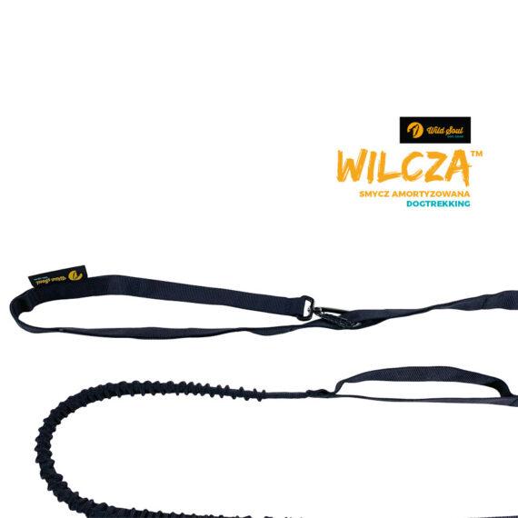 wilcza smycz amortyzowana regulowana dogtrekking wildsoul dog gear